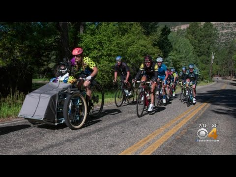 Bike Ride Helps Fight To Find Cure Of Lou Gehrig's Disease