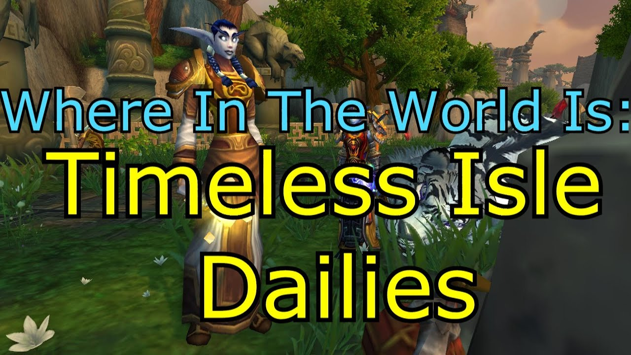 wowhead how to get to timeless isle