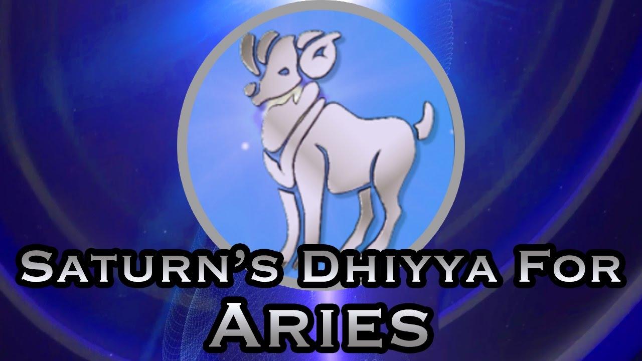 Saturn's Dhiyya For Aries - Aries Yearly Horoscope for 2017 - 2020 In Hindi