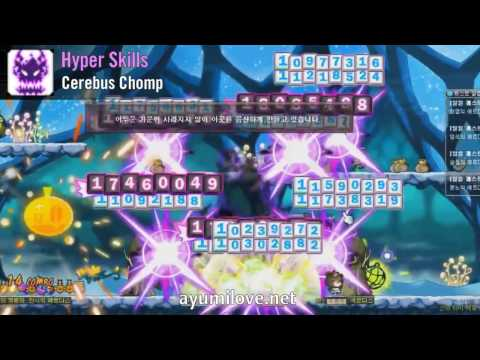 Ayumilove MapleStory Demon Slayer 1st, 2nd, 3rd, 4th, 5th Job Skills + Hyper Skills (2016)