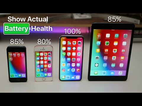 Show Actual iPhone and iPad Battery Health thumbnail