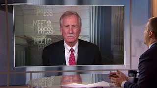 Full Angus King: 'I'm a conservative when it comes to impeachment' | Meet The Press | NBC News