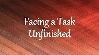 Download Hindi Video Songs - Facing a Task Unfinished