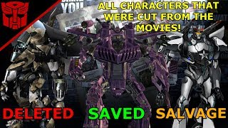 ALL CANCELLED & CUT TRANSFORMERS FROM THE MOVIES (Part 1)