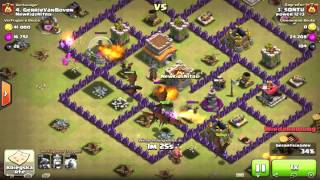 Townhall 7 Anti-3-Star War-Base [Anti-Giant-Dragons-Hogs] [Build+Replays] [Clash of Clans]