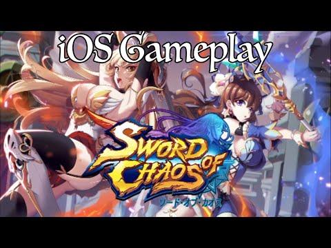 Sword Of Chaos/Art Of Sword Open Beta IOS Gameplay