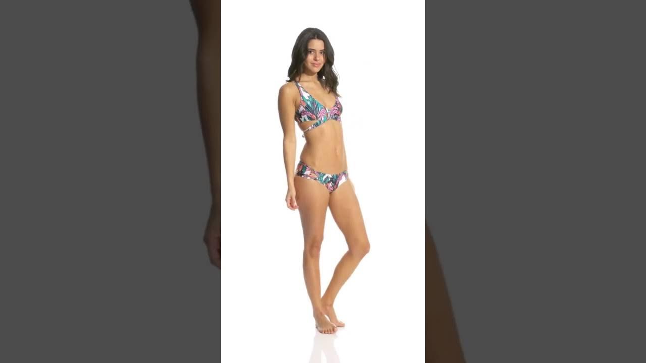 489f78a5a9 MINKPINK Swimwear Texta Tropical Boyleg Bikini Bottom