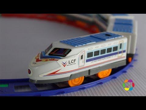 لعبة القطار الحقيقى للاطفال العاب القطارات بنات واولاد Real Train Game Toy