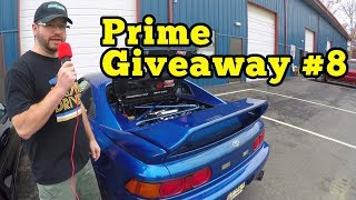 Prime Giveaway Car #8 Turbo SW20 4thGen Swap