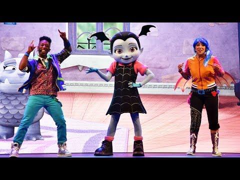 NEW Disney Junior Dance Party Full Show at Hollywood Studios with Vampirina, Mickey, Doc McStuffins
