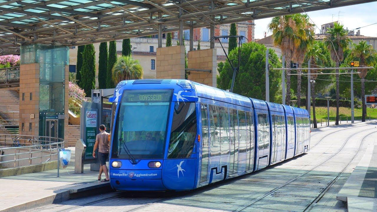 Station Tram Montpellier