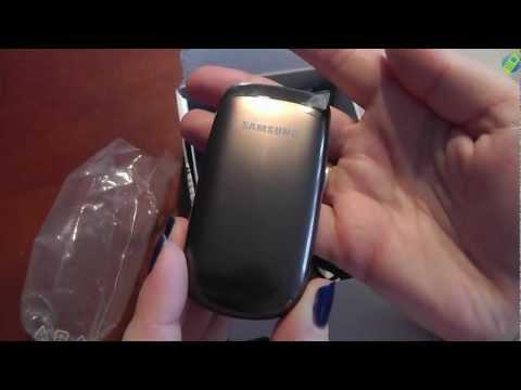 unboxing pl SAMSUNG E1150 Espresso Brown rozpakowanie po polsku
