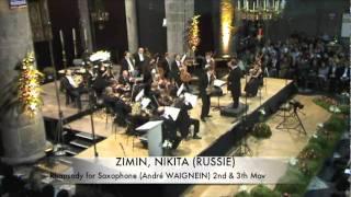 A. Waignein Rhapsody (2, 3 mov.) – Nikita Zimin (Dinant)