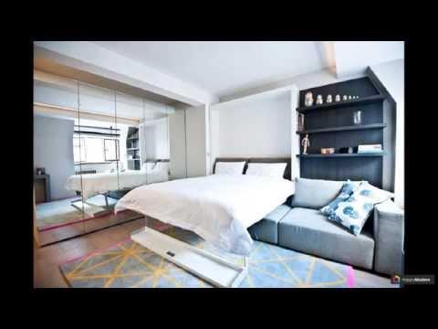 Гостиная и спальня в одной комнате: 70 идей