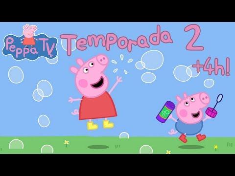 +4 HORAS Peppa Pig Temporada 2 Completa (52 Episodios) en Español Castellano