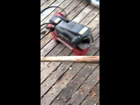 DIY: Twisted Walking Stick