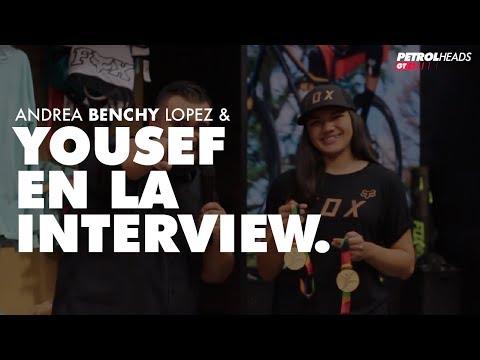 ANDREA BENCHY LOPEZ & YOUSEF EN LA