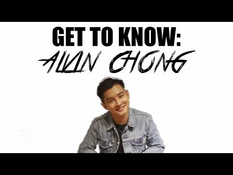 Get To Know: Alvin Chong