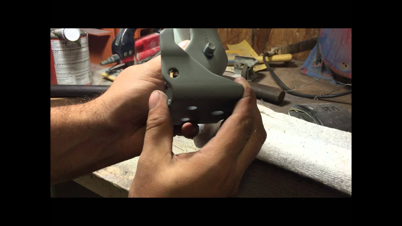 How To Rebuild Chevelle Gm Door Hinges Roller Detent Bushings And Pin Kit Tutorial Youtube