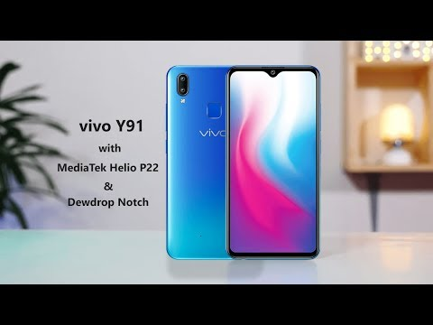 vivo Y91 | with | Dewdrop Notch Screen | Launched -2019