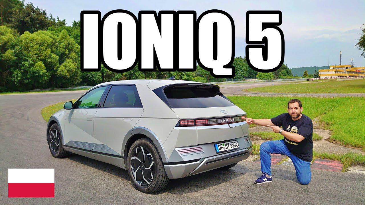 Hyundai IONIQ 5 - przyszłość wygląda jak Golf z Minecrafta (PL) - test i jazda próbna
