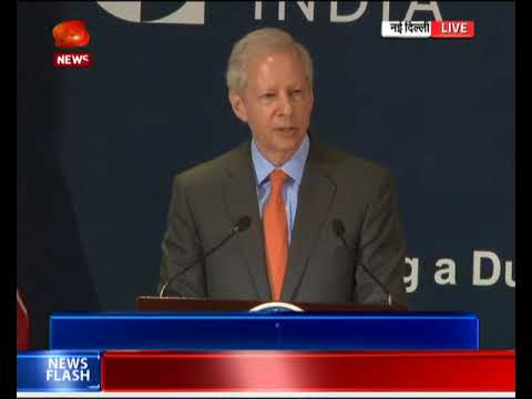 US Ambassador to India Kenneth Juster briefs media in New Delhi