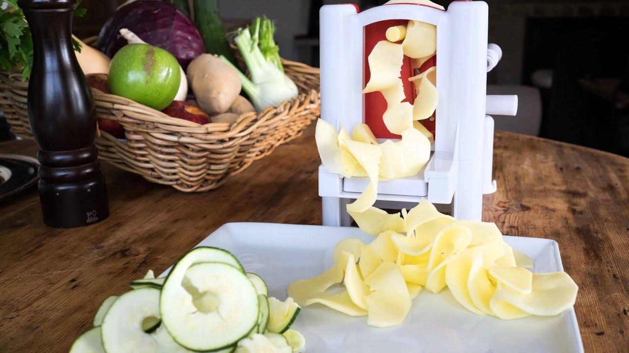 Cortador de verduras spiralizer mandolina de cocina for Mandolina utensilio de cocina