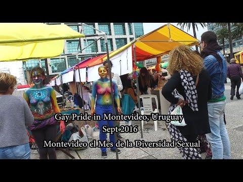 Gay Pride in Montevideo - Mes De La Diversidad Sexual, Uruguay.