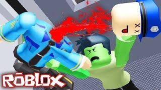 ZOMBIE KILLINGS ON A TRAIN IN ROBLOX!?