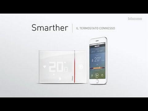 Smarther Termostato Connesso Di Bticino Installazione In Nuovo Impianto