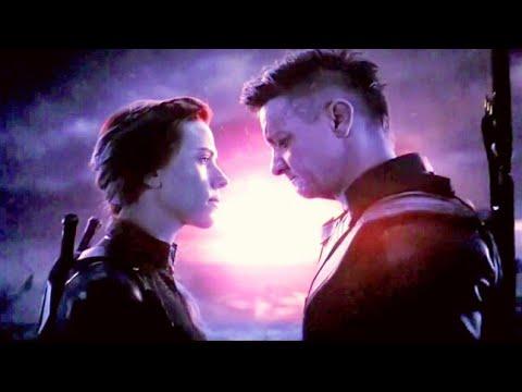 Hawkeye & black widow in Vormir for soul stone  avengers endgame HD CLIP