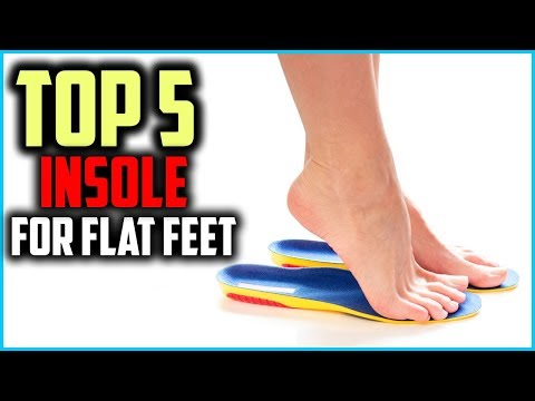 top-5-best-insole-for-flat-feet-in-2019