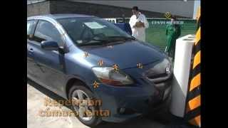Low-Speed Crash 2009 Test Toyota Yaris