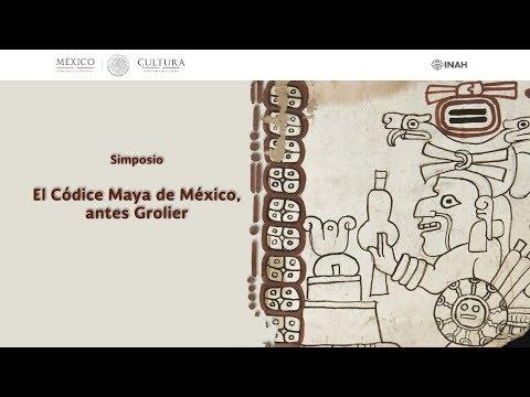 simposio-el-códice-maya-de-méxico,-antes-grolier---inauguración