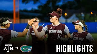 Softball: Highlights | Florida 5, A&M 4 - Super Regional Game One