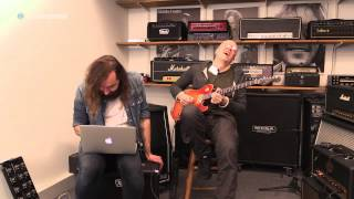 """Devin Townsend uses his """"TC for my Bunghole"""" TonePrint for the Viscous Vibe"""