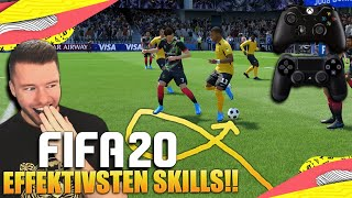 Die EFFEKTIVSTEN Tricks in FIFA 20 😍😍 SKILL TUTORIAL