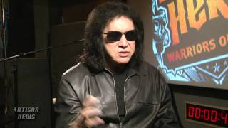 GENE SIMMONS TO KISS UNMARRIED LIFE GOODBYE, POPS QUESTION