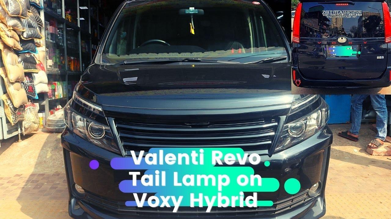 Valenti Revo Tail Lamp On Voxy Hybrid