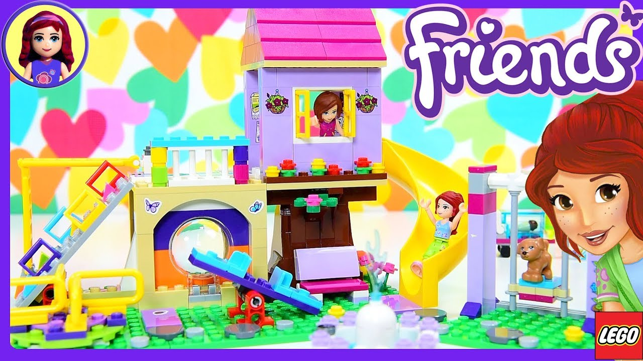Lego Friends Heartlake City Playground Build Silly Play
