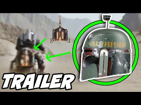 The Mandalorian: Season 2 BOBA FETT Easter Egg FULL Trailer Breakdown