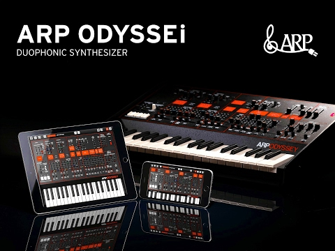 KORG ODYSSEi REV 2 Sound Pack and Skin Demo for the iPad