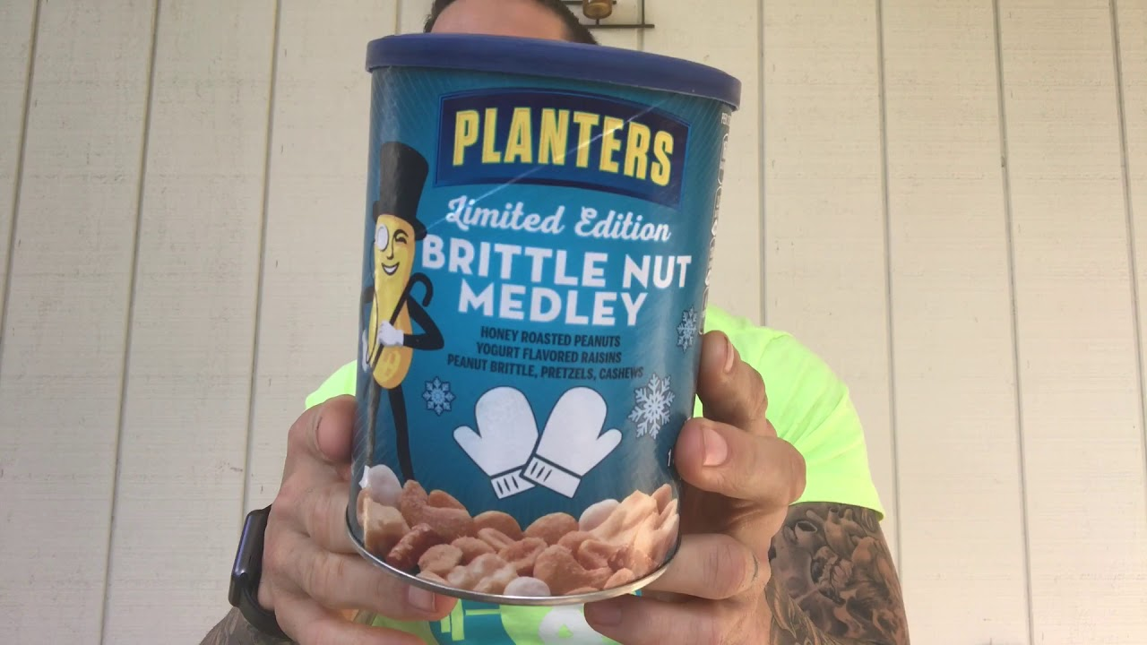 Fun Size Review: Planters' Brittle Nut Medley - YouTube Planters Brittle Nut Medley on planters munch bar, planters holiday 3-pack, planters almond chocolate crunch, planters tailgate mix, planters pumpkin spice almonds, planters holiday mix, planters almonds seasonal winter, planters nuts gift pack, planters winter spiced nuts, planters pumpkin spiced almonds 22 5-ounce, planters spiced mix, planters nuts creme,