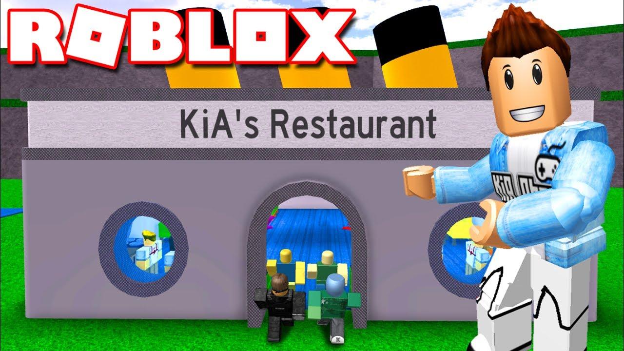 Roblox | XÂY DỰNG NHÀ HÀNG BÁN ĐỒ ĂN MỸ - Restaurant Tycoon | KiA Phạm