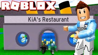 Roblox | CONSTRUCTION Of AMERICAN FOOD RESTAURANTS-Restaurant Tycoon | Kia Breaking