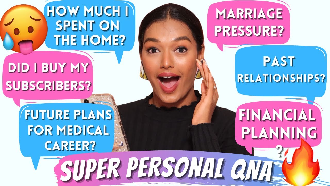 VERY PERSONAL QnA   Money spent on Home, Marriage, Relationships, 5 Year Goal   Sarah Sarosh