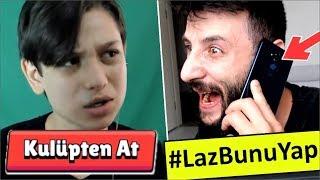 Berat Ali'yi KULÜPTEN ATTIM ve TELEFONLA ARADIM! #LazBunuYap Brawl Stars