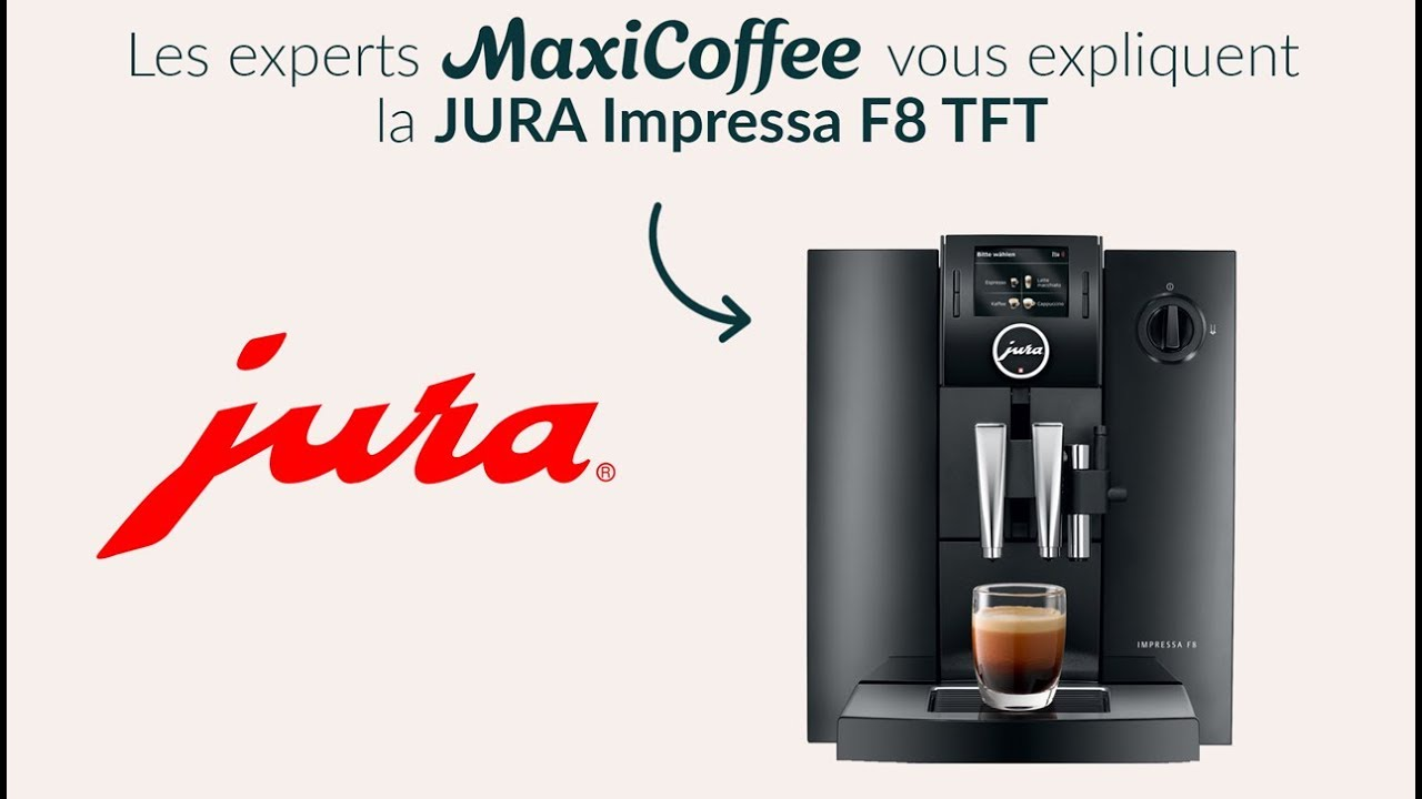 jura impressa f8 machine caf automatique le test maxicoffee youtube. Black Bedroom Furniture Sets. Home Design Ideas