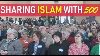 500 Americans in the Mosque - Standing room only - What they learned?