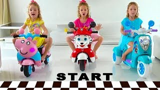 Child Pretend Play with new Power Wheels Toys for kids